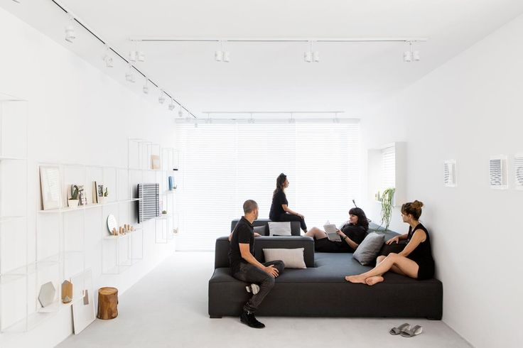 A Minimalist, Monochromatic Apartment in Tel Aviv