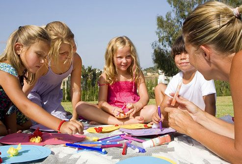 5 Fun Outdoor Crafts To Do With Kids