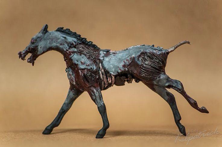 Very disturbing zombie horse