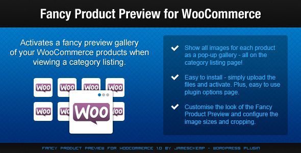 Fancy Product Preview For WooCommerce