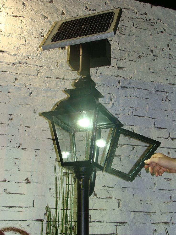 Die besten 25 luces solares jardin ideen auf pinterest - Farolas para jardin ...