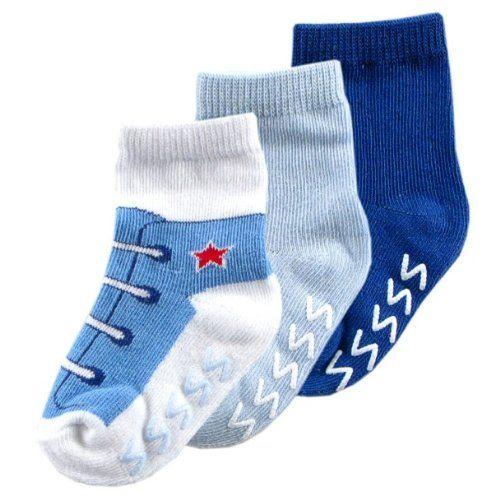 3pk Non-Skid Shoe Socks $2.99 (save $3.00)