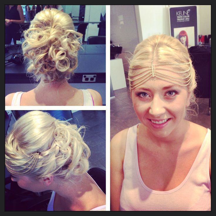 Greek goddess upstyle  By Leisa at Mhs