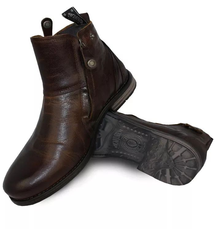 Sneaky Steve Heron Premium Leather Boot