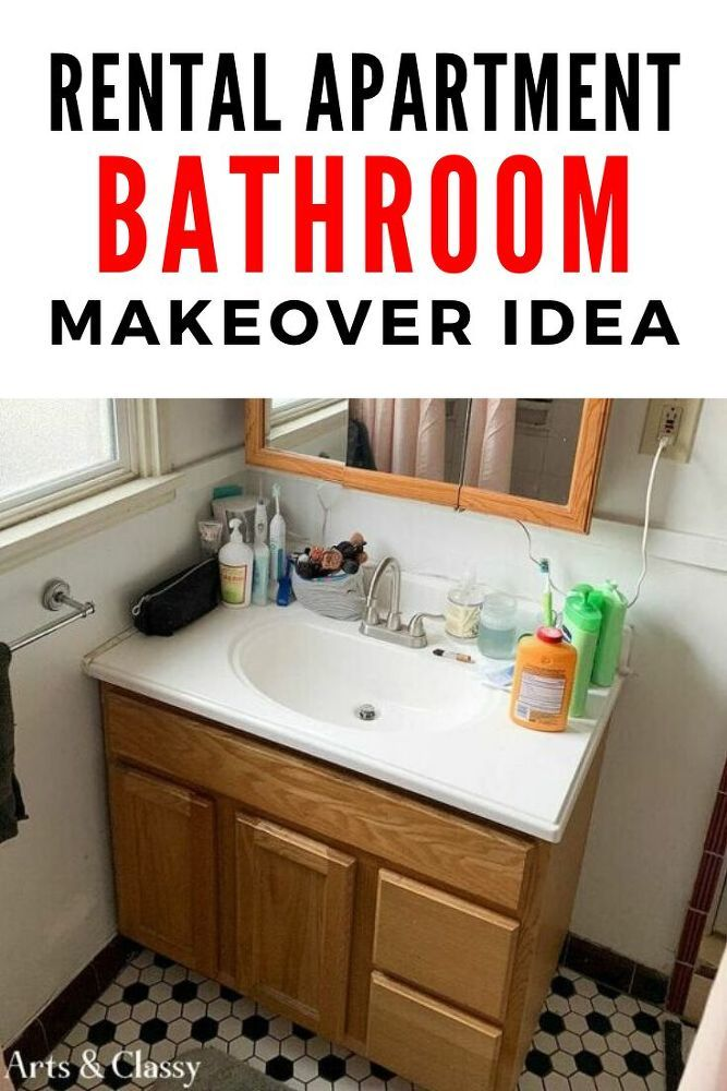 Diy Rental Bathroom Makeover Idea In 2020 Home Decor Quotes Cute Home Decor Cheap Home Decor