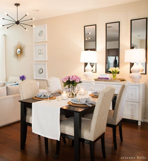 Small Dining Room Decor, How To Decorate Small Dining Room Wall