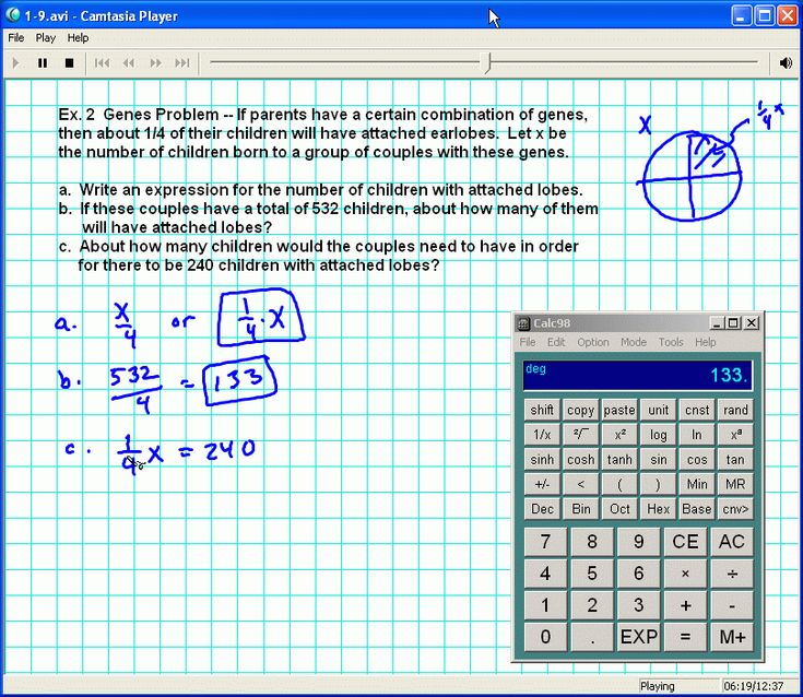 Foerster's Algebra 1 with a Home Study Companion (video lessons) by David Chandler