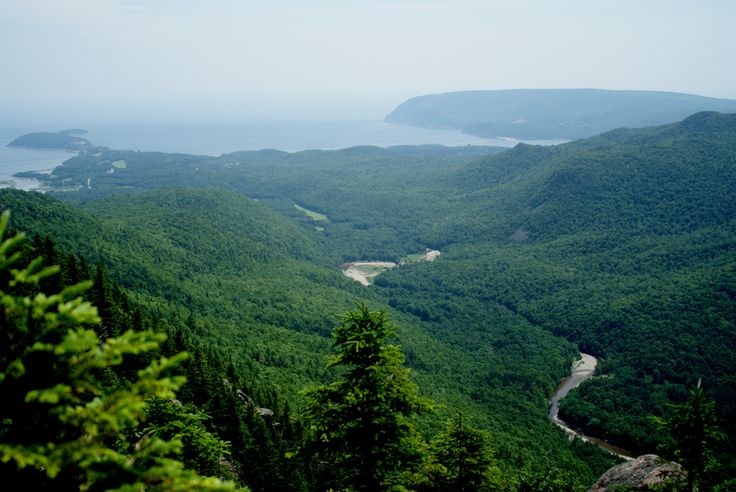 The Franey Trail, a hiking trail on Cape Breton's Cabot Trail.