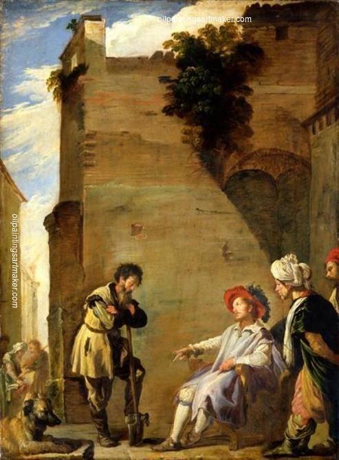 Resultat d'imatges de Parable of the relentless servant. (1620). Domenico Fetti