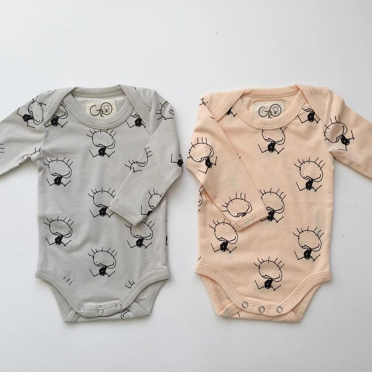 One for each ❤️❤️ #gro #ss16 #baby #collection #grey #peach #color #twins