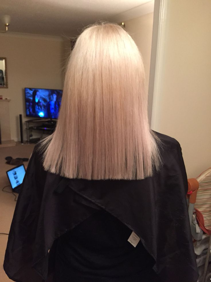 White Clean Blonde Wella 10 1 10 16 And Painted On Bleach