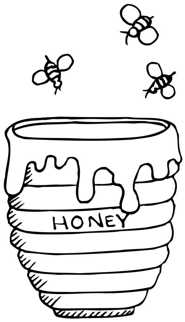 Free Images Com Free Public Domain Images Bee Coloring Pages