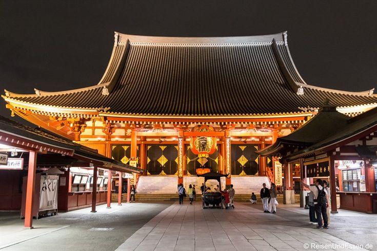 Asakusa und der Senso-ji Tempel in Tokio waren unser Ziel bei Tag und bei Nacht. Senso-ji ist der größte und älteste buddhistische Tempel in Tokio. Mein Rundgang.