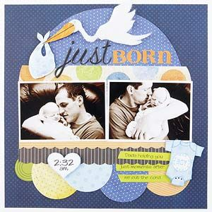 Welcoming baby.: Baby Scrapbook Pages, Scrapbook Ideas, Scrapbooks, Scrapbooklayout, Scrap Books, Baby Boys, Scrapbook Layout, Scrapbook Baby, Welcome Baby