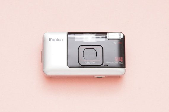 Konica Big Mini A4 35mm Compact AF Point and Shoot by ohsocult