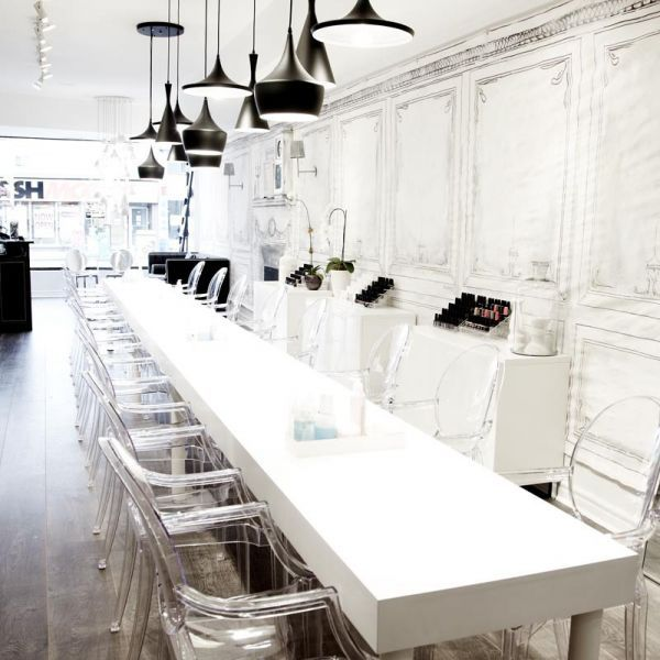 59 best Nail bars images on Pinterest | Nail salons, Manicures and ...