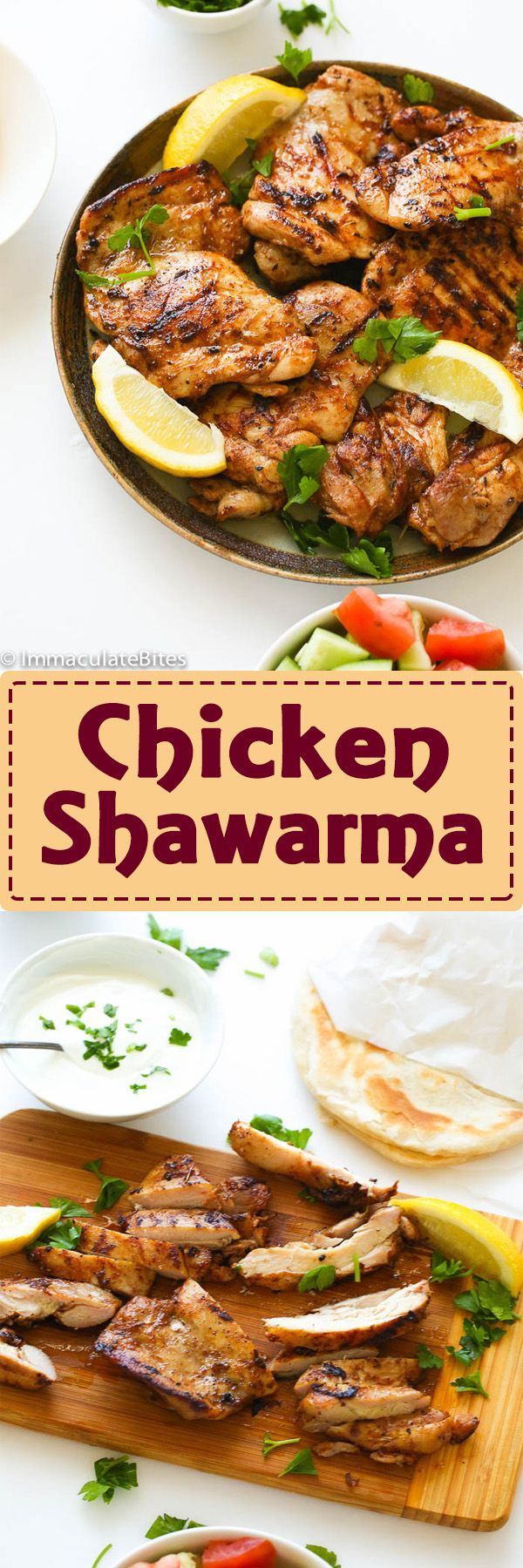 392 best caribbean recipes images on pinterest caribbean recipes chicken shawarma incredibly flavorful chicken marinated in aromatic yogurt marinate that is bursting with middle forumfinder Images