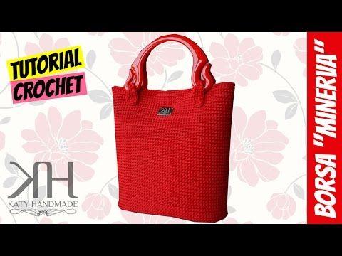 "Tutorial crochet ""Minerva"" bag | Processing on grid || Katy Handmade - YouTube"