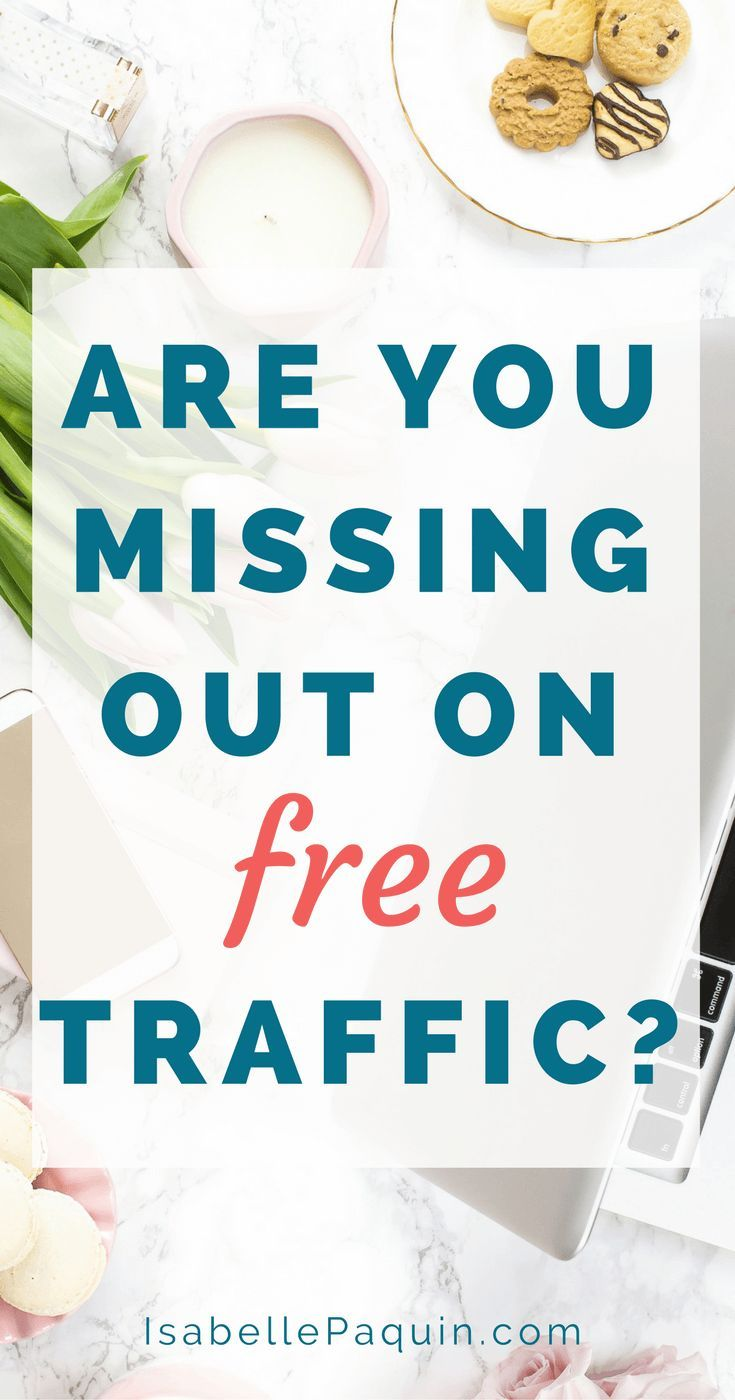 Free traffic can be awesome, but also difficult to get. There's a strategy  you're probably missing out that's costing you free traffic. Learn how to  fix this!