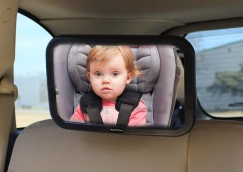 Baby-Car-Mirror-Back-Seat-Rear-Facing-to-See-Babies-Entertains-Kids-NEW