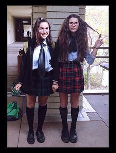 18 TV & Movie Character DIY Halloween Costumes For Best Friends | Gurl.com