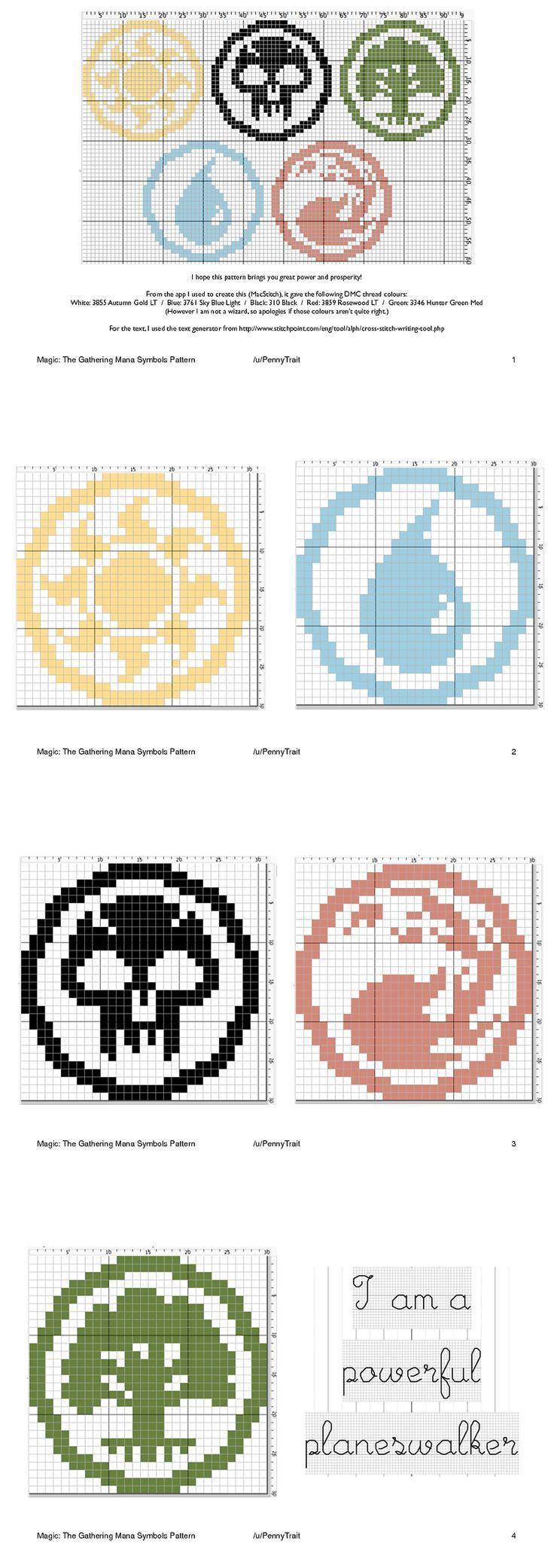 Magic cross stitch