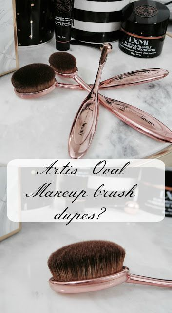 ARTIS OVAL MAKEUP BRUSH DUPES FROM MARSHALLS?
