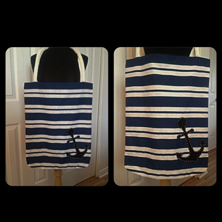 Spring 2014 Collection Nautical Tote