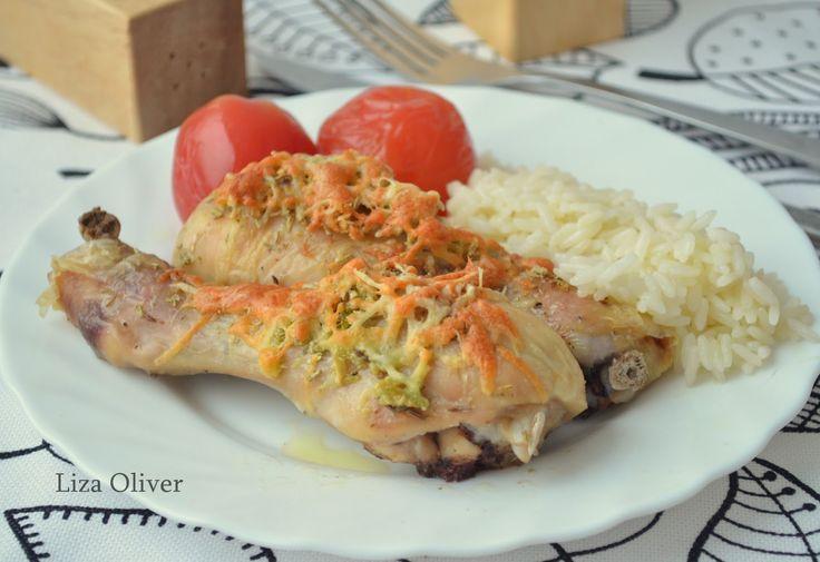 MY FOOD или проверено Лизой: Пряные куриные голени с пармезаном и чесноком