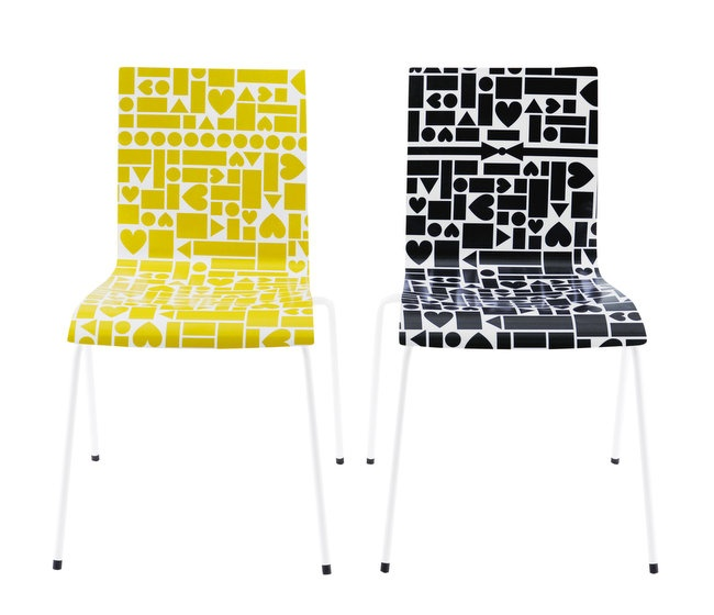 Muovo pattern for The Love Chair Collection with Hirameki Design x Finland
