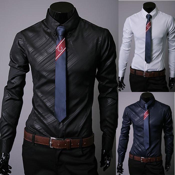 Striped Formal Shirt up to XXXL