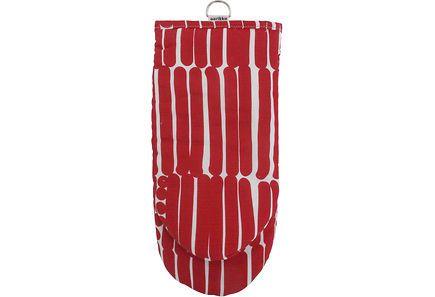 Aarikka Palko uunikinnas 14,5x32 cm punainen