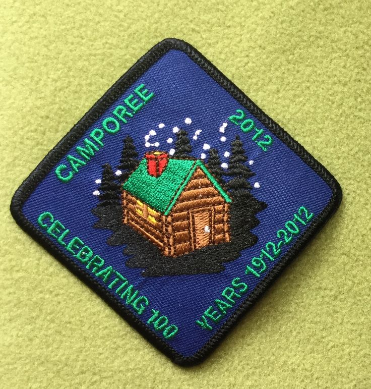 girl scouts citrus council 100th anniversary patch