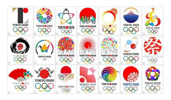 Due to complains of plagiarism by the theater of Liège, in Belgium, the Tokyo 2020 comittee decided to give up its logo. It's a shame, because that logo wa
