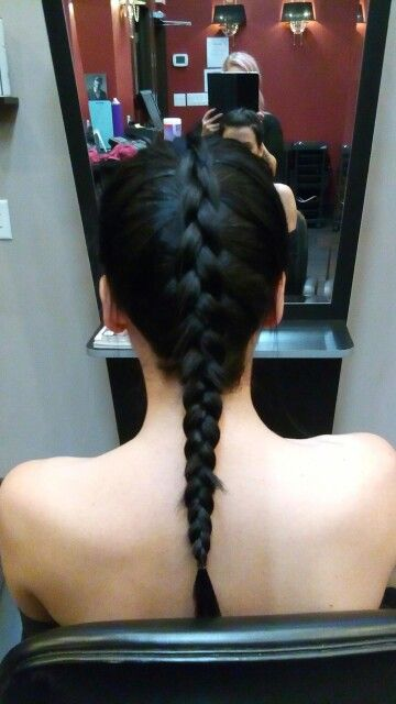 Inside out french braid by Katie Best