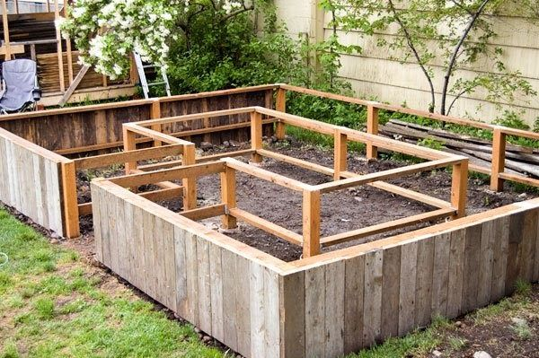 Here's a picture of what the raised bed looked like this weekend:     Here's a picture of what it looks like now:     And in case you can't ...