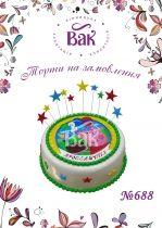 Торт Свинка Пеппа заказать в Виннице