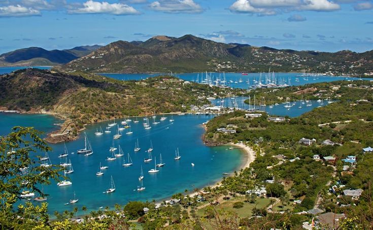 English Harbour And Falmouth Harbour, Antigua, West Indies -5189