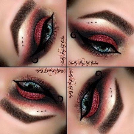 38 best Devil Halloween Makeup images on Pinterest | Make up ...
