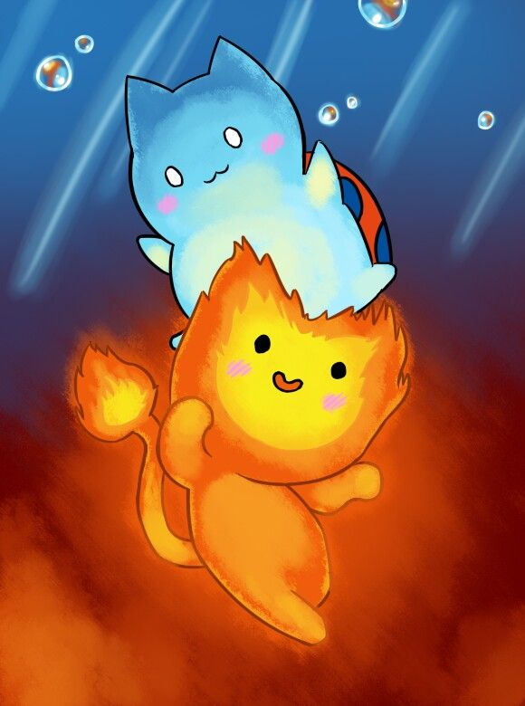 Catbug And Flamoadventure Time