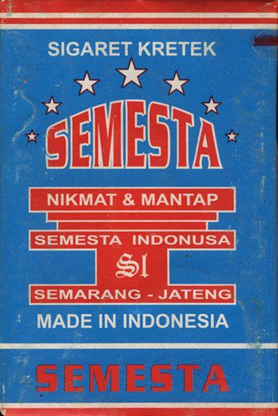 Semesta Sigaret Kretek Semesta Nikmat & Mantap Semesta Indonesia S1 Semarang - Jateng Made Indonesia