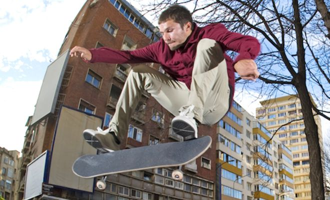 """No Road Rage Fights In This Russian Video, Just 100% Raw Street Skateboarding! – Gosha Konyshev's """"Effect of Growing Fury"""" Part!"""