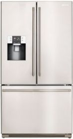 Smeg 512L stainless steel french door fridge with bottom freezer (model SF640S) for sale at L & M Gold Star (2584 Gold Coast Highway, Mermaid Beach, QLD). Don't see the Smeg product that you want on this board? No worries, we can order it in for you!