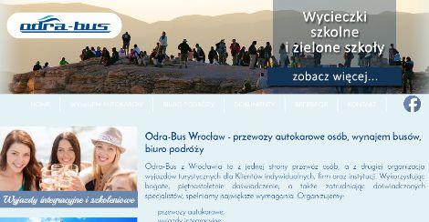 Firma Odra-Bus z Wrocławia powstała w 2000 roku. Oferujemy profesjonalne przewozy autokarowe oraz wynajem autokarów i busów.