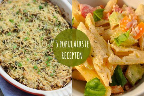 De vijf populairste recepten allertijden