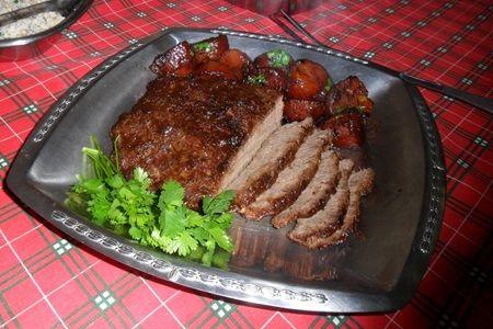 O sabor fica incrível, vale muito a pena! - Aprenda a preparar essa maravilhosa receita de Carne assada de panela
