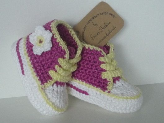 Baby Turnschuhe Gehäkelt Ladysu Pinterest Crochet Baby Shoes