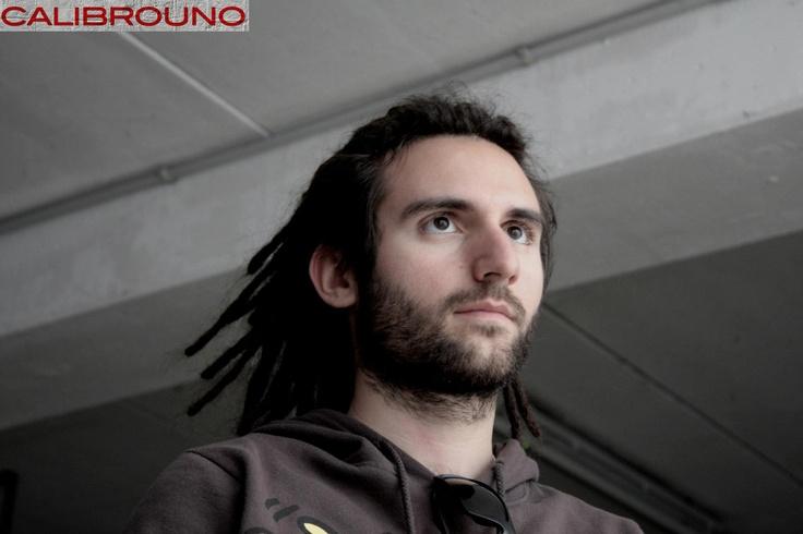 Fabio De Bernardinis alla batteria