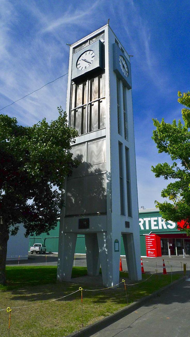 Carterton, clock tower,  see more at New Zealand Journeys app for iPad www.gopix.co.nz