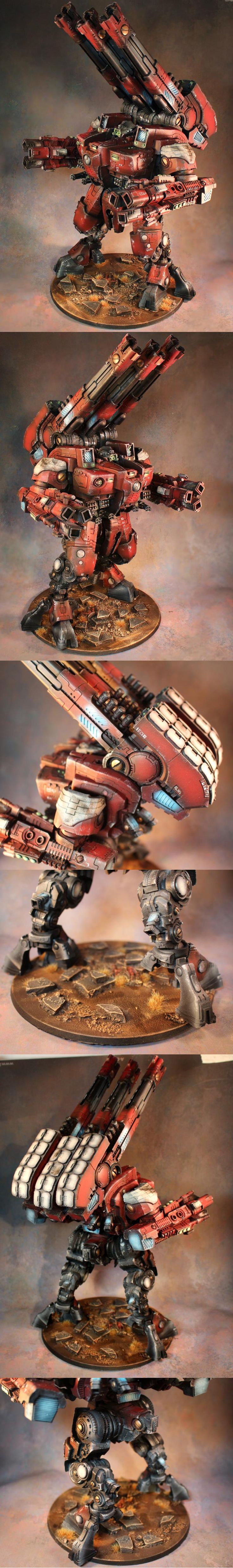 KX139 Ta'unar Supremacy Armour (Farsight Enclaves)